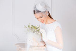 fascynator ślubny - zdjęcie 2