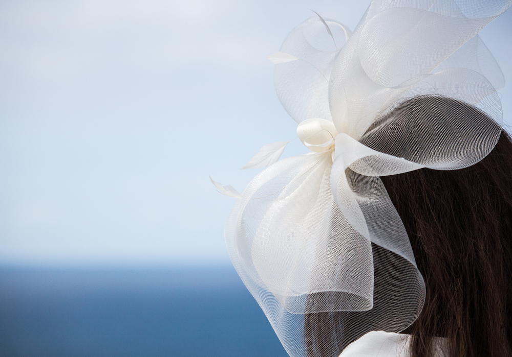 fascynator ślubny - zdjęcie 3