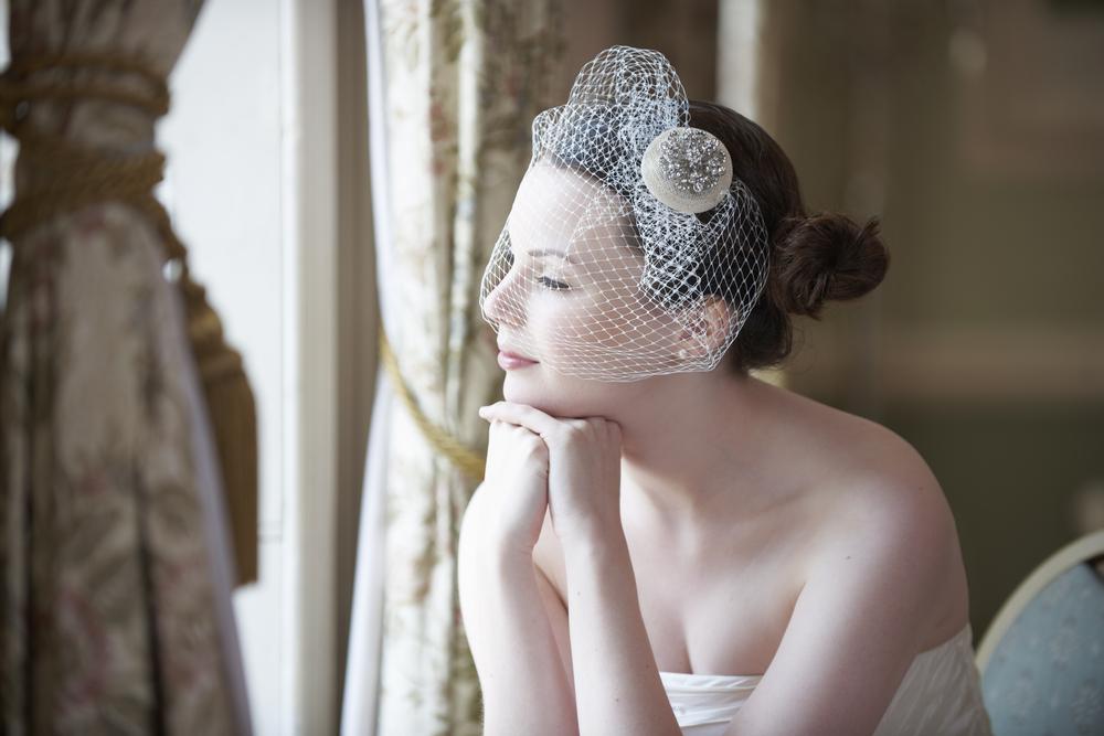 fascynator ślubny - zdjęcie 4