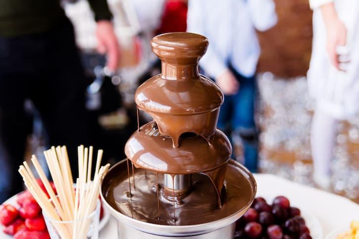 fontanna czekoladowa atrakcje na wesele