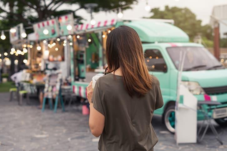 food truck atrakcje na wesele