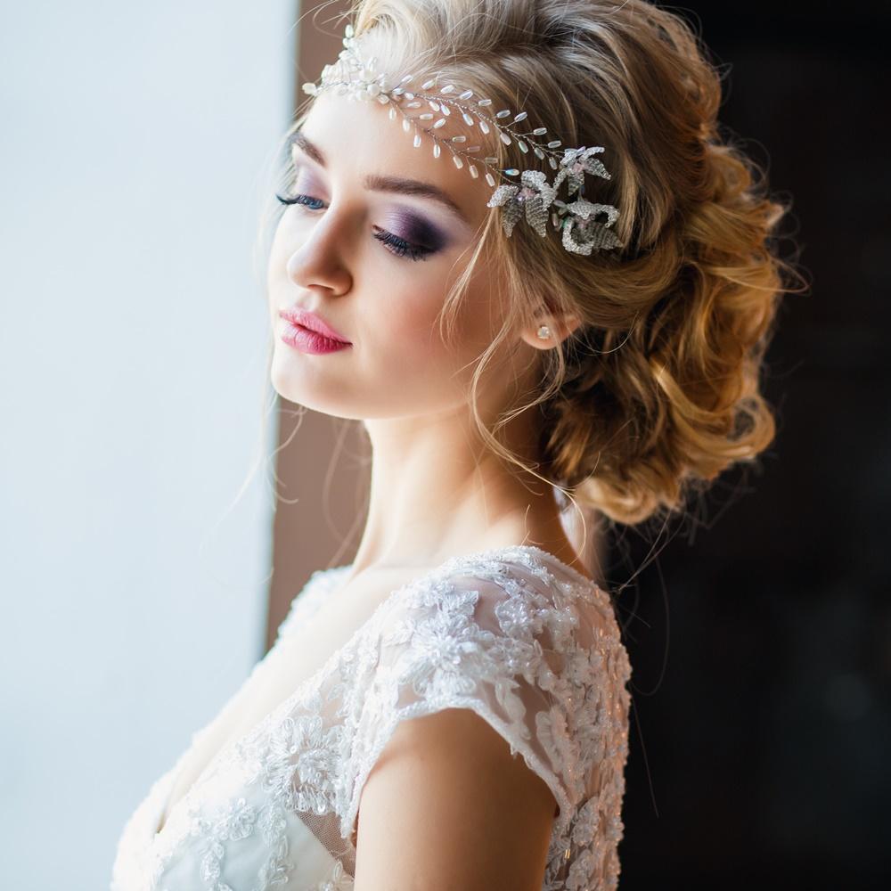 Fryzura ślubna Zakrywająca Odstające Uszy Weddingpl
