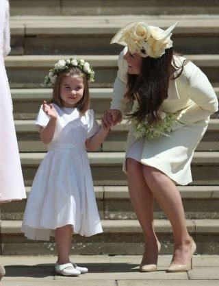 Księżniczka Charlotte - ślub Meghan Markle i księcia Harry`ego