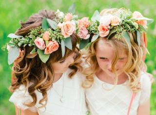Fryzury na wesele dla dziewczynek - zdjęcie 20