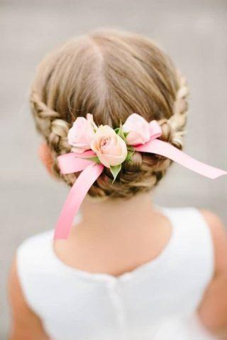 Fryzury na wesele dla dziewczynek - zdjęcie 16