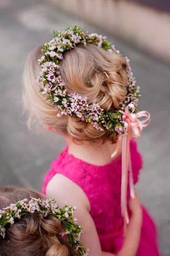 Fryzury na wesele dla dziewczynek - zdjęcie 15