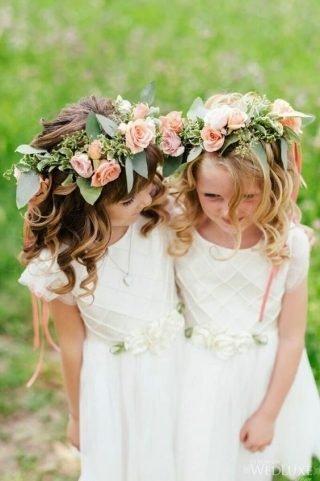 Fryzury na wesele dla dziewczynek - zdjęcie 7