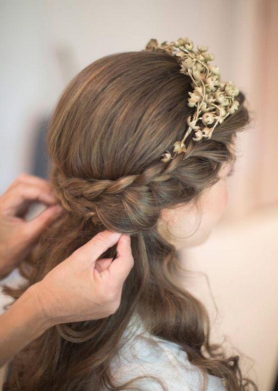 Fryzury Na Wesele Dla Dziewczynek Weddingpl Inspiruje I Radzi