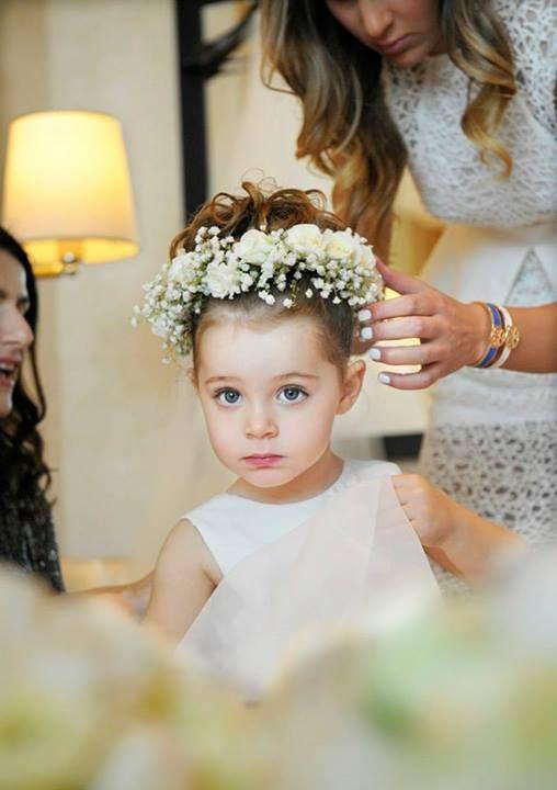 Fryzury na wesele dla dziewczynek - zdjęcie 10