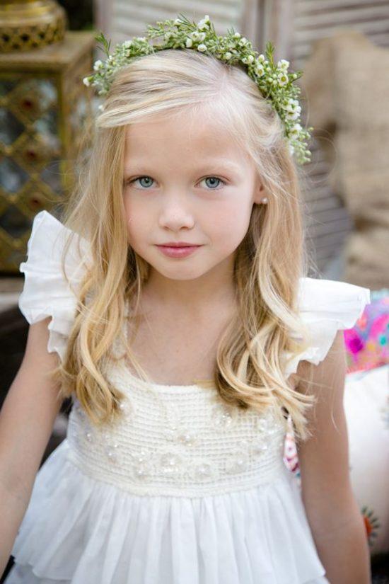 Fryzury na wesele dla dziewczynek - zdjęcie 6