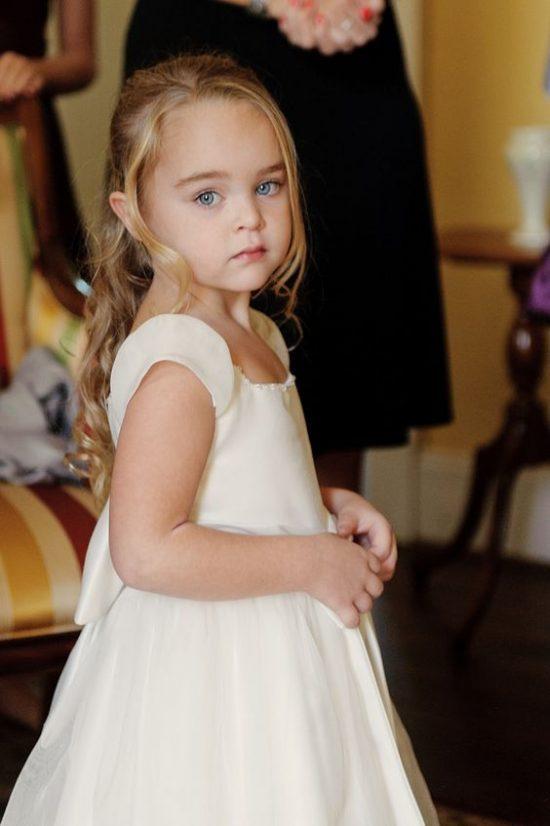 Fryzury na wesele dla dziewczynek - zdjęcie 3