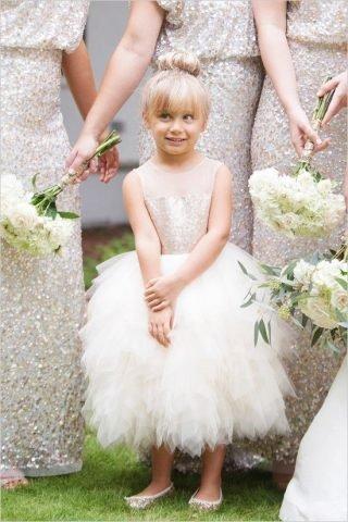 Fryzury na wesele dla dziewczynek - zdjęcie 2