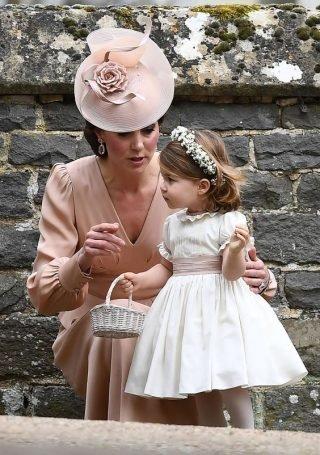 Księżniczka Charlotte - ślub Pippy Middleton