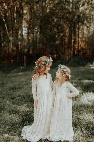 Fryzury na wesele dla dziewczynek - inspiracje