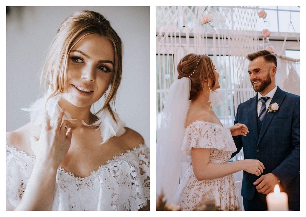 fryzura ślubna upięcie Wedding.pl