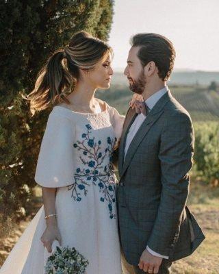 Fryzury ślubne 2020 - luźny kucyk