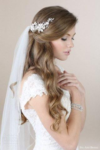 Standardowe fryzury ślubne 2020