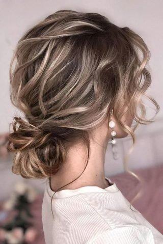 Kok ślubny z cienkich włosów