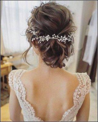 Rzadkie włosy - jak fryzura na ślub