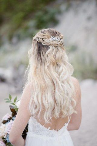 fryzury ślubne cienkie włosy
