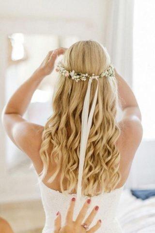 fryzura ślubna cienkie włosy