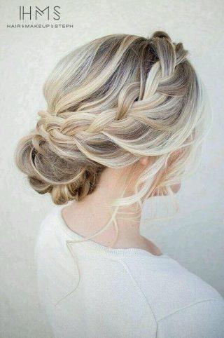 ślubne upięcia włosów cienkich