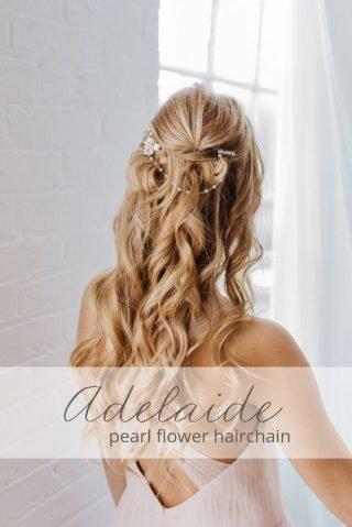 fryzury ślubne dla cienkich włosów - loki