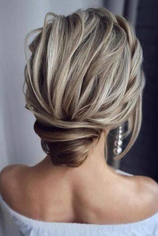 fryzury ślubne dla cienkich włosów koki