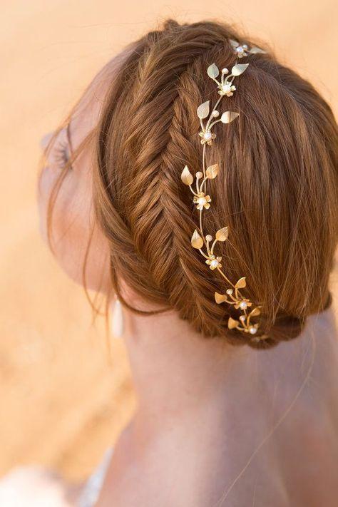 Fryzury ślubne dla rudych włosów - 3