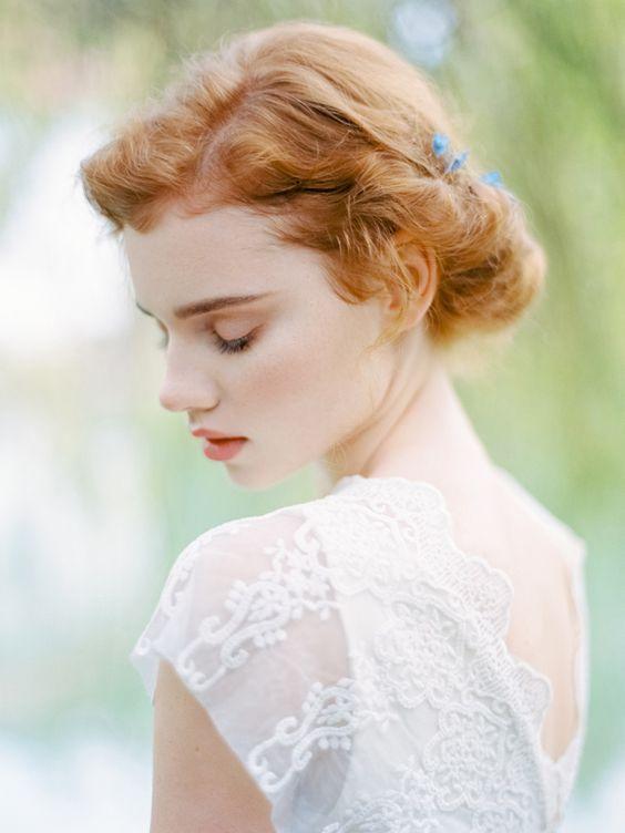 Fryzury ślubne Dla Rudych Włosów Inspiracje Weddingpl