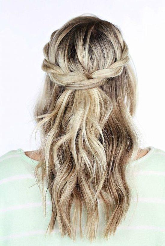 fryzury ślubne dla świadkowej - rozpuszczone - zdjęcie 6
