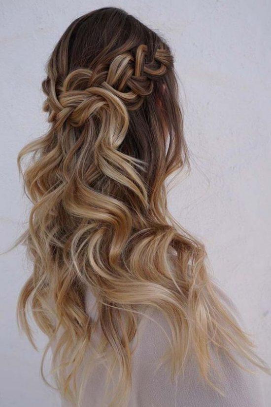 fryzury ślubne dla świadkowej - rozpuszczone- zdjęcie 7