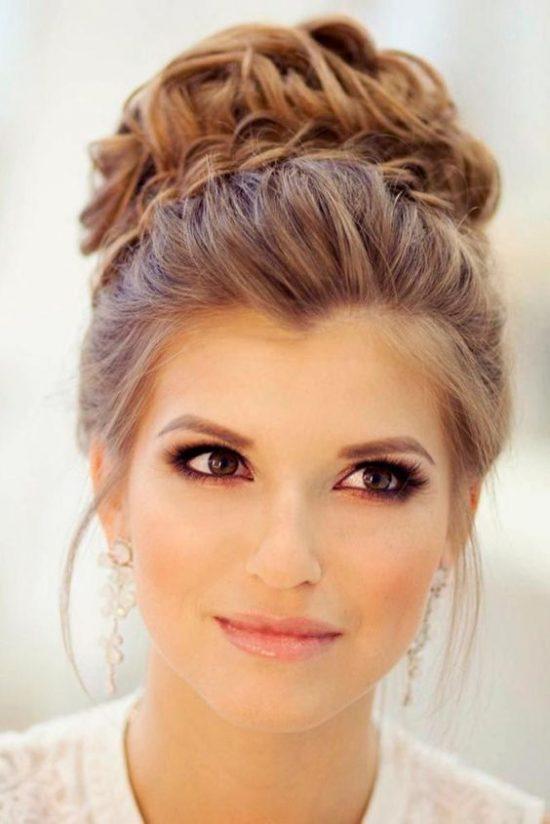 fryzury ślubne dla świadkowej - upięcie - zdjęcie 2