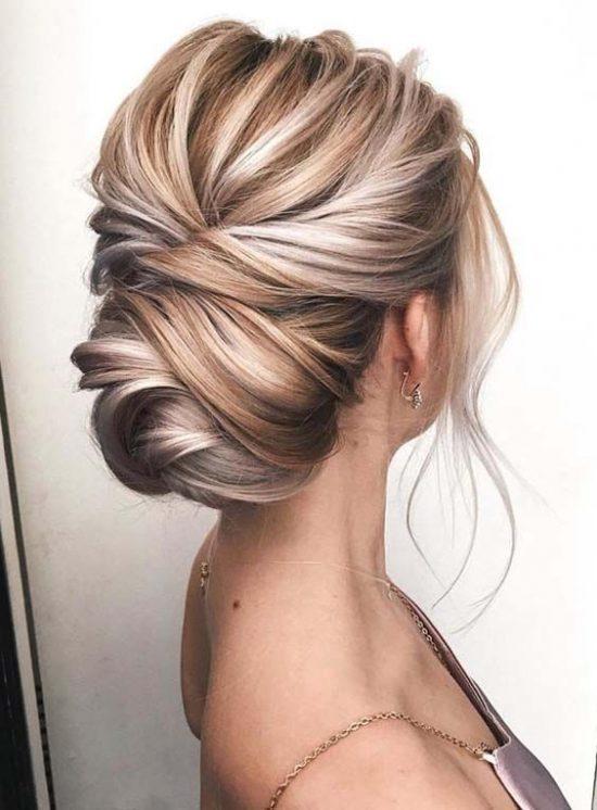 fryzury ślubne dla świadkowej - upięcie - zdjęcie 3