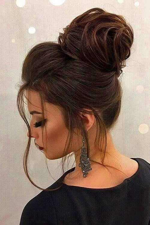 fryzury ślubne dla świadkowej - upięcie - zdjęcie 5