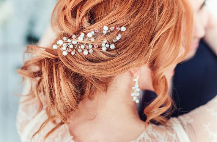 Fryzury ślubne - romantyczne upięcia - zdjęcie 5