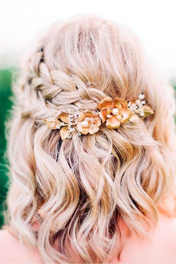 Fryzury ślubne W Stylu Boho Ponad 30 Inspiracji Wedding