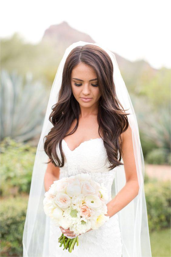 Fryzury ślubne Z Rozpuszczonych Włosów Moc Inspiracji Weddingpl