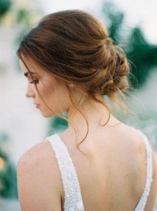 romantyczny kok weselny