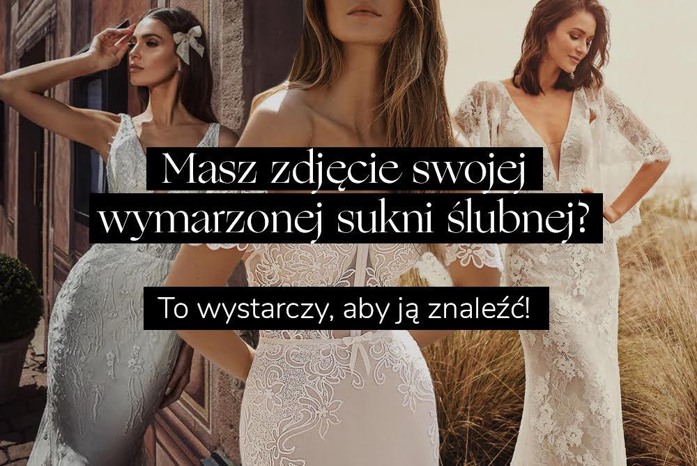 Graficzna wyszukiwarka sukni ślubnych Wedding.pl