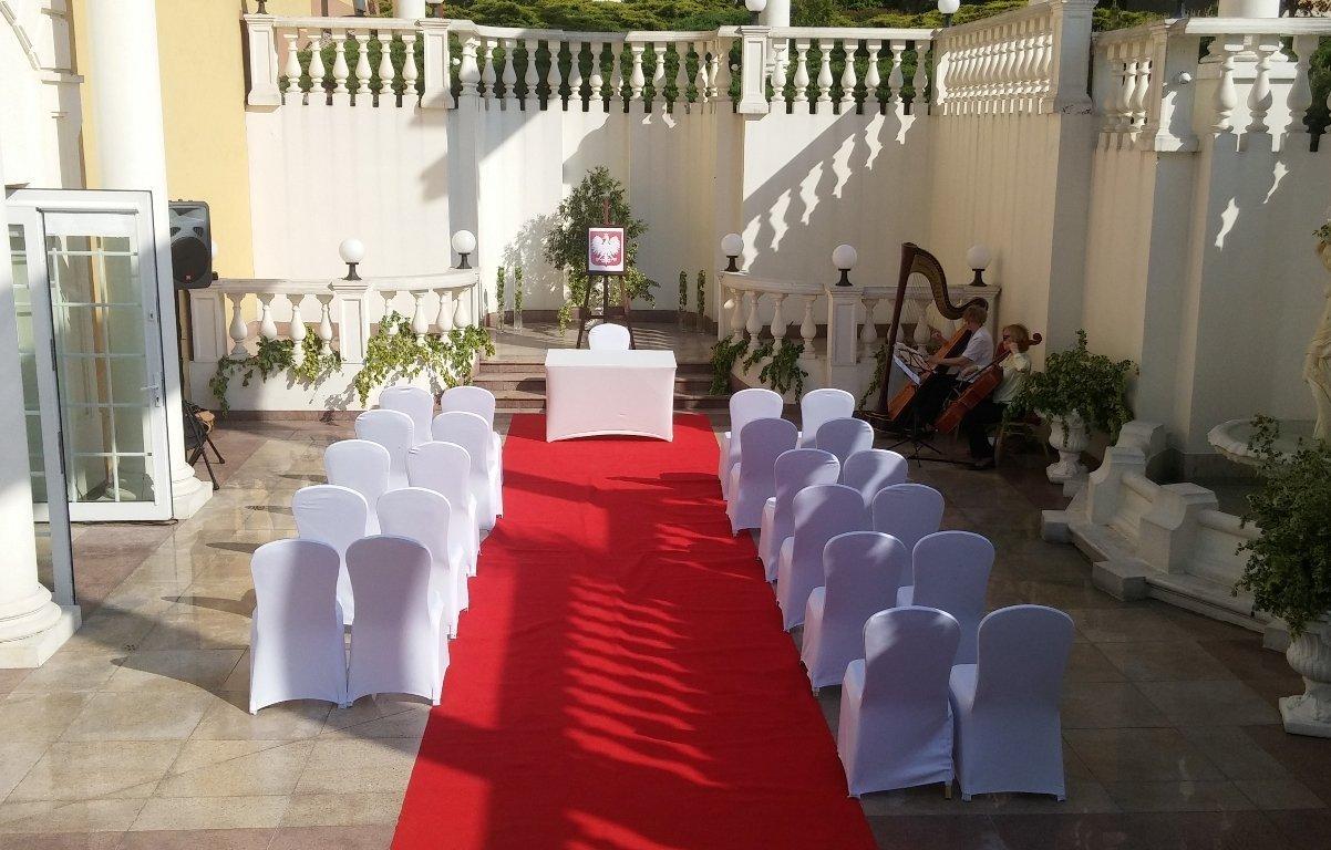 Hotel Windsor - ślub plenerowy na patio