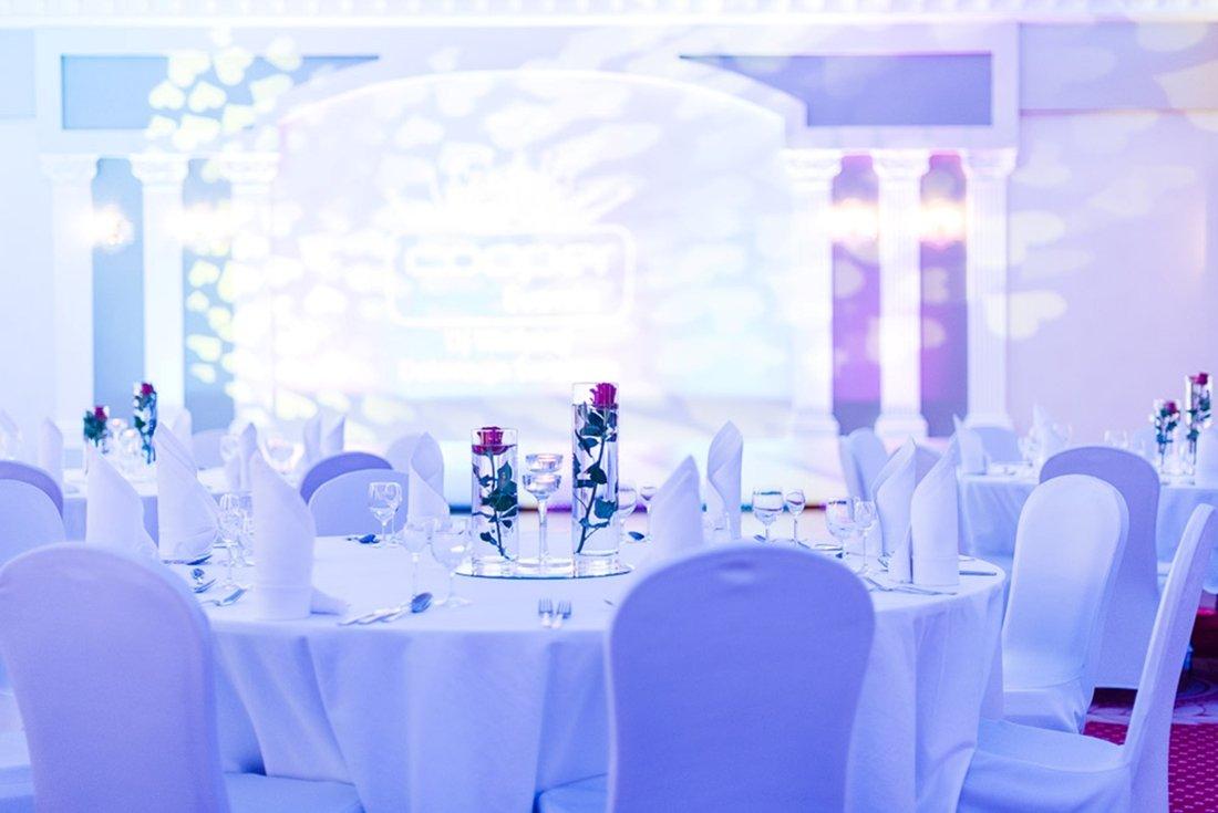 Hotel Windsor - stoły weselne