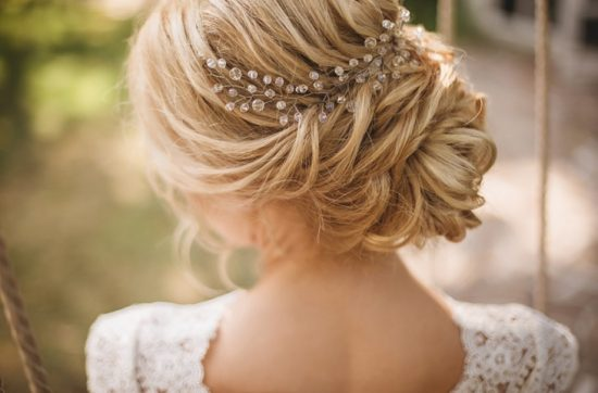 Idealna fryzura ślubna - zdjęcie 1
