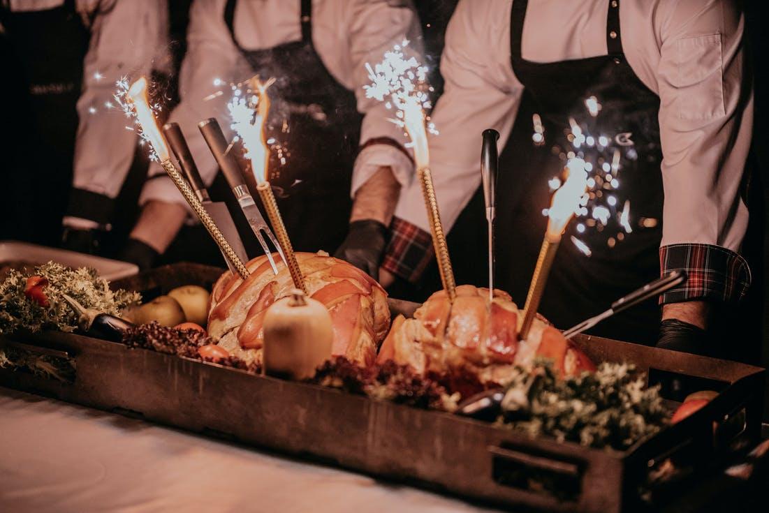 ciepłe dania gorące dania mięsne