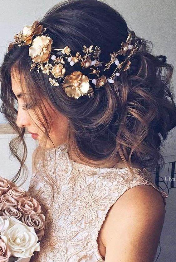 fryzura a suknia ślubna