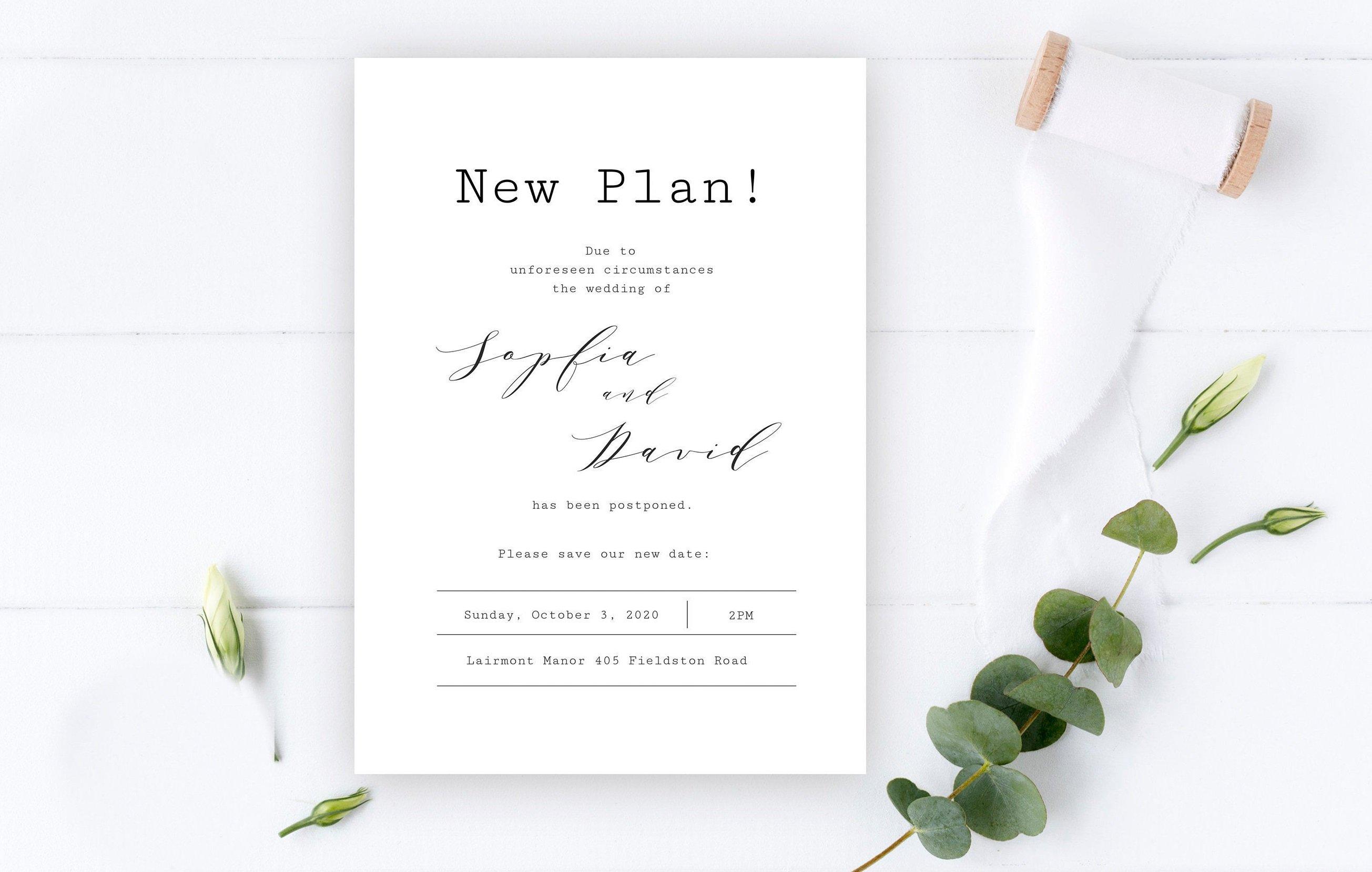 zmiana terminu ślubu