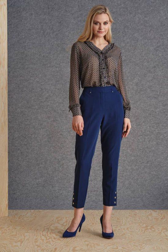 Jak wyszczuplić sylwetkę stylizacją - spodnie