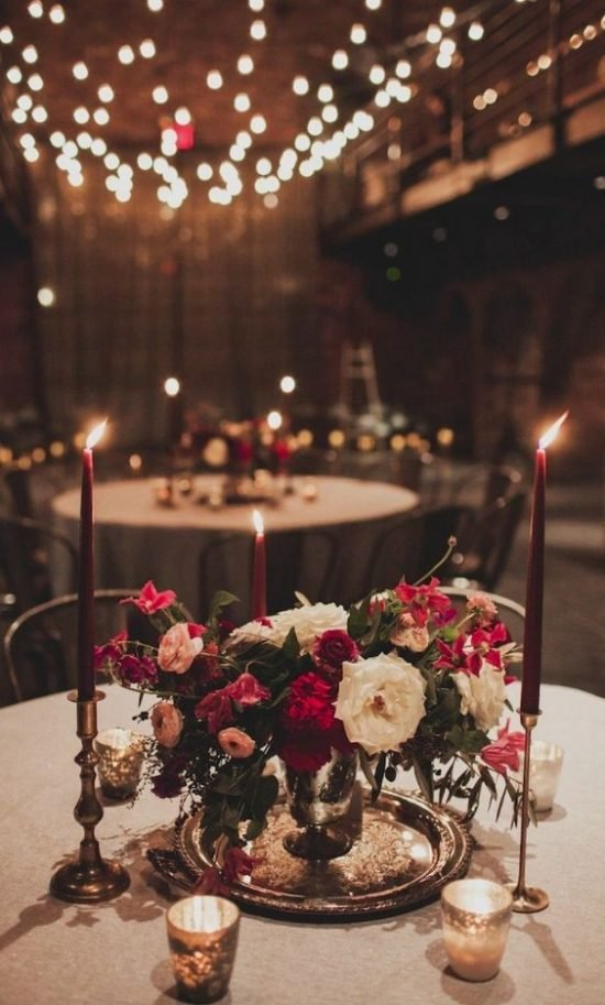 Jesienne dekoracje weselne – dekoracje