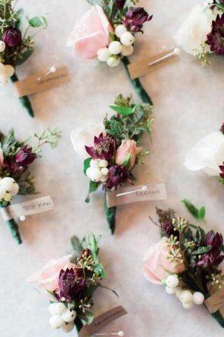 Jesienne dekoracje weselne – upominki dla gości
