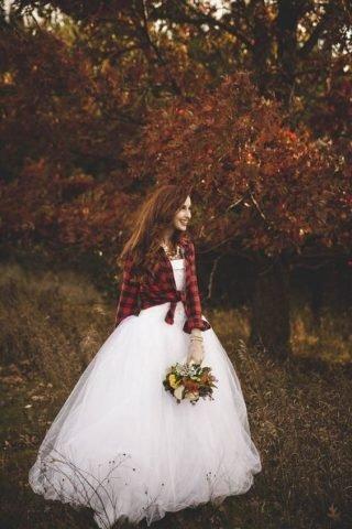 Jesienne dekoracje weselne w stylu country
